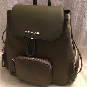 Hunter green Michael Kors full sized bookbag NWT